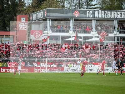 Fotos von FC Würzburger Kickers - 1. FC Nürnberg auf sportfotografie.de