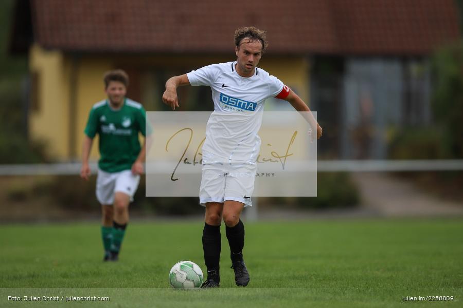 Steffen Lochmann, 08.09.2019, Kreisklasse Würzburg, FC Karsbach, FC Gössenheim - Bild-ID: 2258809