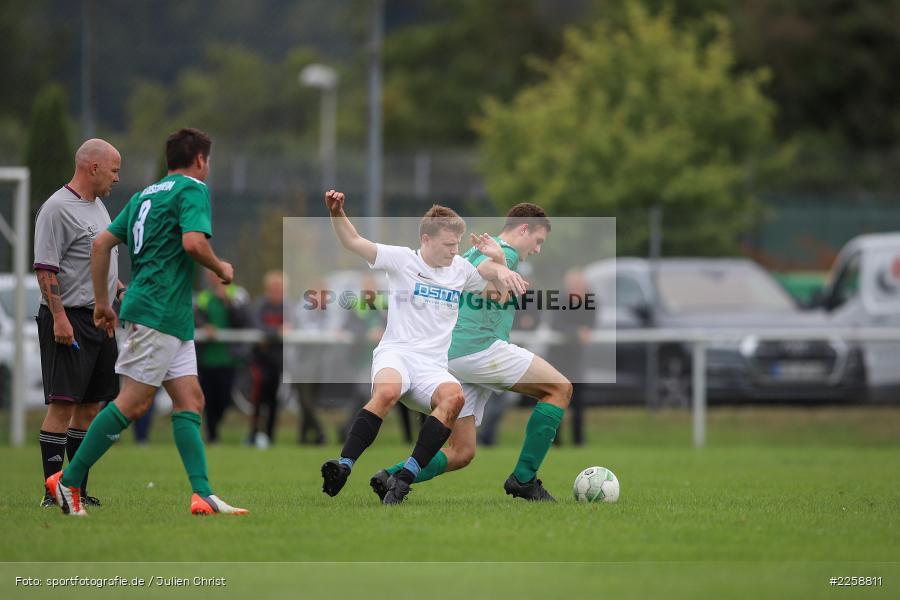 Christoph Fella, Kilian Wehner, 08.09.2019, Kreisklasse Würzburg, FC Karsbach, FC Gössenheim - Bild-ID: 2258811
