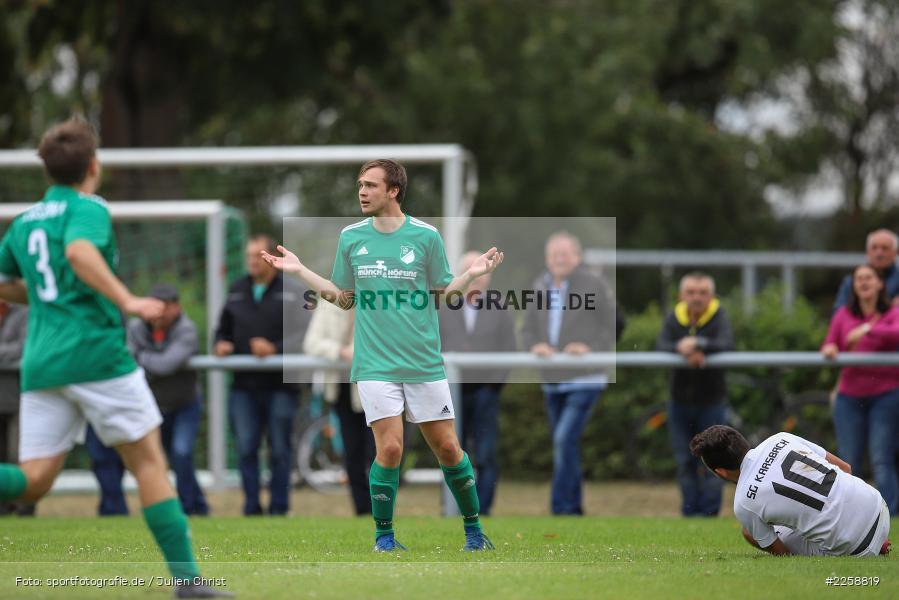Sebastian Voicila, Markus Kütt, 08.09.2019, Kreisklasse Würzburg, FC Karsbach, FC Gössenheim - Bild-ID: 2258819