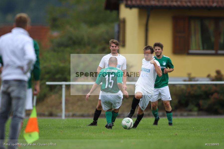 Kreisklasse Würzburg, 08.09.2019, FC Karsbach, FC Gössenheim - Bild-ID: 2258995