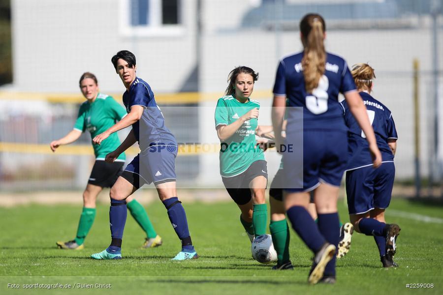 Katrin Ruf, Franziska Hartmann, Kreisliga Frauen, 15.09.2019, FC Hopferstadt 2, FV Karlstadt - Bild-ID: 2259008