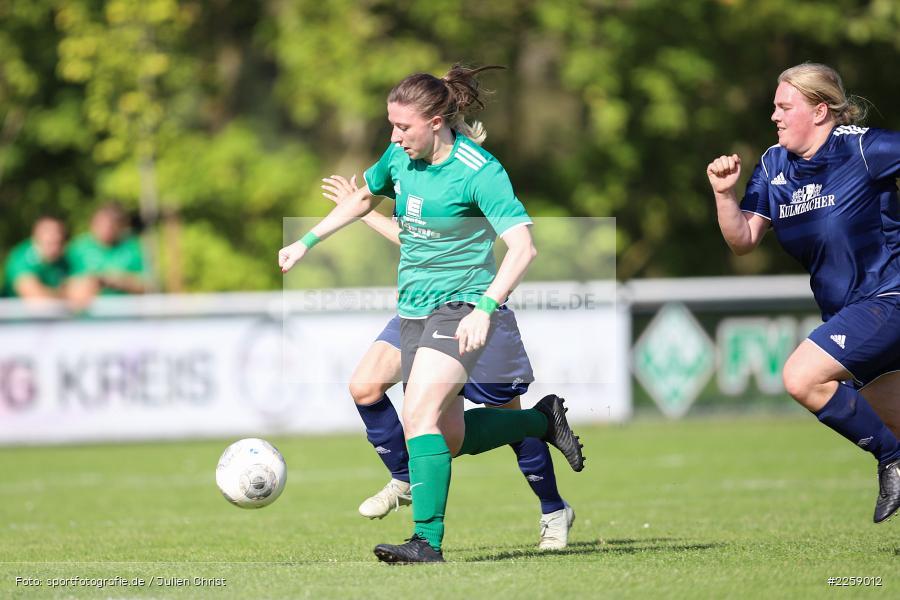 Maria Schwarz, Lisa Steinbach, Kreisliga Frauen, 15.09.2019, FC Hopferstadt 2, FV Karlstadt - Bild-ID: 2259012