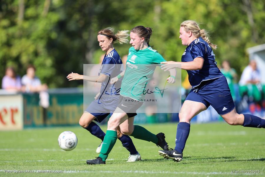 Tanja Breunig, Maria Schwarz, Lisa Steinbach, Kreisliga Frauen, 15.09.2019, FC Hopferstadt 2, FV Karlstadt - Bild-ID: 2259013