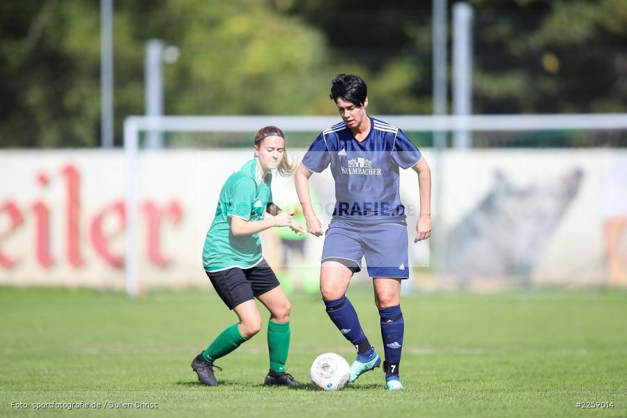 Anne-Kathrin Flederer, Ellen Barthelme, Kreisliga Frauen, 15.09.2019, FC Hopferstadt 2, FV Karlstadt - Bild-ID: 2259014