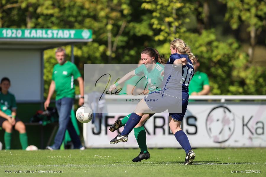 Lisa Steinbach, Maria Schwarz, Kreisliga Frauen, 15.09.2019, FC Hopferstadt 2, FV Karlstadt - Bild-ID: 2259020