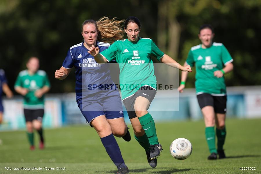 Julia Vogel, Maria Schwarz, Kreisliga Frauen, 15.09.2019, FC Hopferstadt 2, FV Karlstadt - Bild-ID: 2259022
