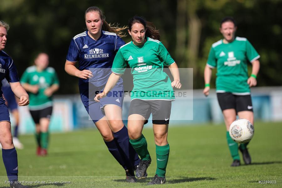 Julia Vogel, Maria Schwarz, Kreisliga Frauen, 15.09.2019, FC Hopferstadt 2, FV Karlstadt - Bild-ID: 2259023