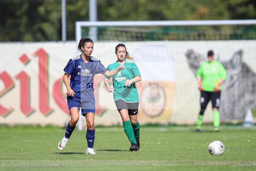 Alexandra Mehl, Malena Schmitt, Kreisliga Frauen, 15.09.2019, FC Hopferstadt 2, FV Karlstadt - Bild-ID: 2259024