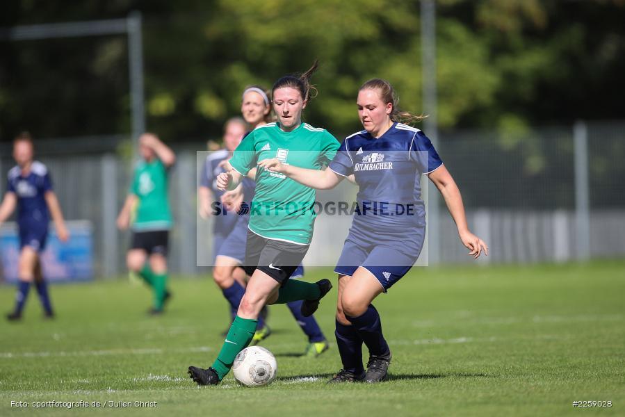 Maria Schwarz, Lisa Steinbach, Kreisliga Frauen, 15.09.2019, FC Hopferstadt 2, FV Karlstadt - Bild-ID: 2259028