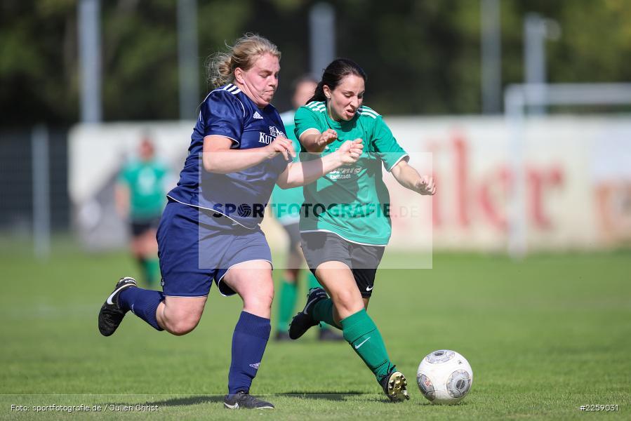 Maria Schwarz, Julia Vogel, Kreisliga Frauen, 15.09.2019, FC Hopferstadt 2, FV Karlstadt - Bild-ID: 2259031