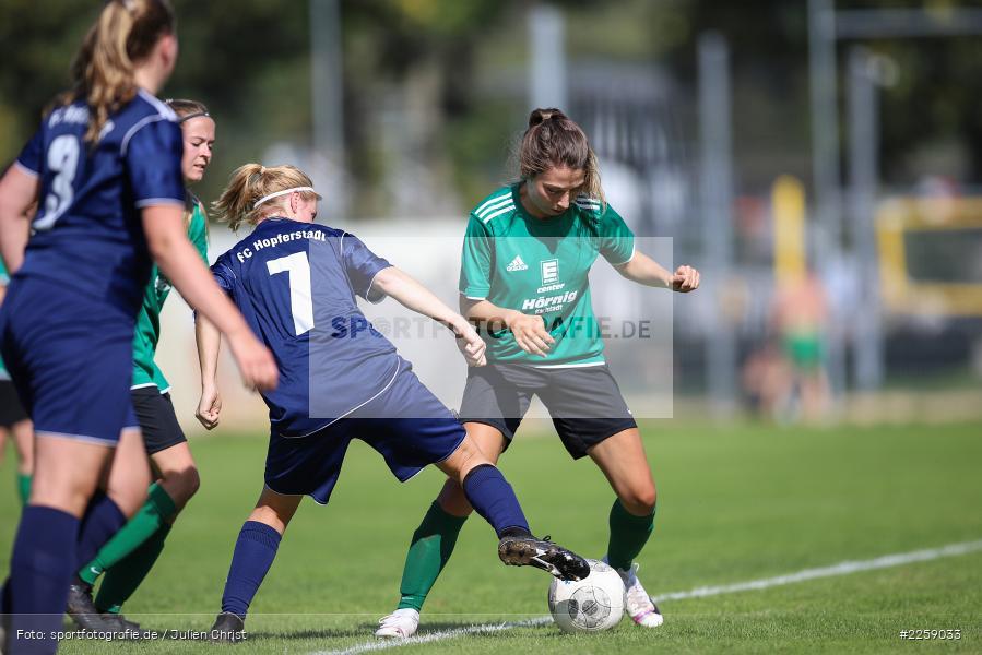 Katrin Ruf, Franziska Hartmann, Kreisliga Frauen, 15.09.2019, FC Hopferstadt 2, FV Karlstadt - Bild-ID: 2259033