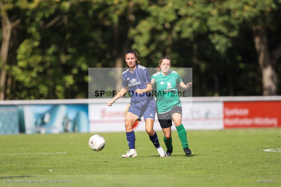 Alexandra Mehl, Malena Schmitt, Kreisliga Frauen, 15.09.2019, FC Hopferstadt 2, FV Karlstadt - Bild-ID: 2259034