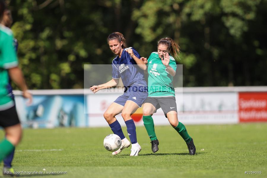 Alexandra Mehl, Malena Schmitt, Kreisliga Frauen, 15.09.2019, FC Hopferstadt 2, FV Karlstadt - Bild-ID: 2259035