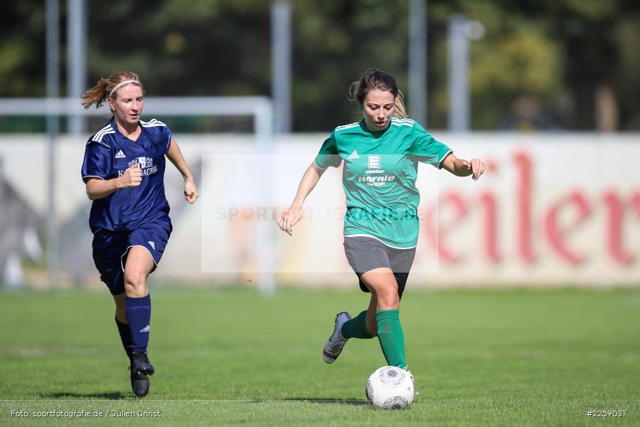 Franziska Hartmann, Kreisliga Frauen, 15.09.2019, FC Hopferstadt 2, FV Karlstadt - Bild-ID: 2259037