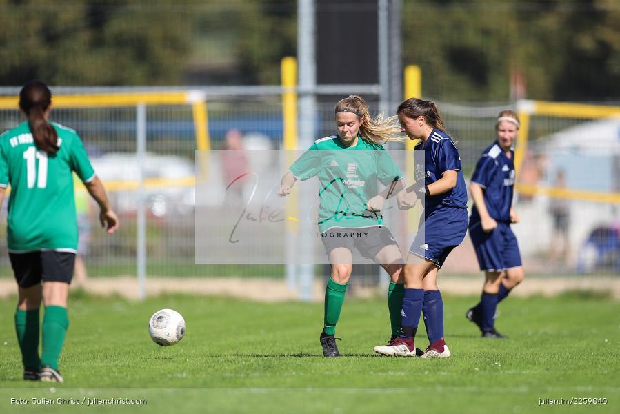 Anne-Kathrin Flederer, Anna-Lena Drescher, Kreisliga Frauen, 15.09.2019, FC Hopferstadt 2, FV Karlstadt - Bild-ID: 2259040