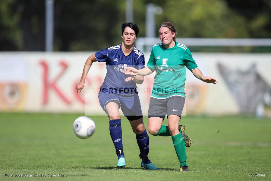 Kerstin Reiss, Ellen Barthelme, Kreisliga Frauen, 15.09.2019, FC Hopferstadt 2, FV Karlstadt - Bild-ID: 2259044