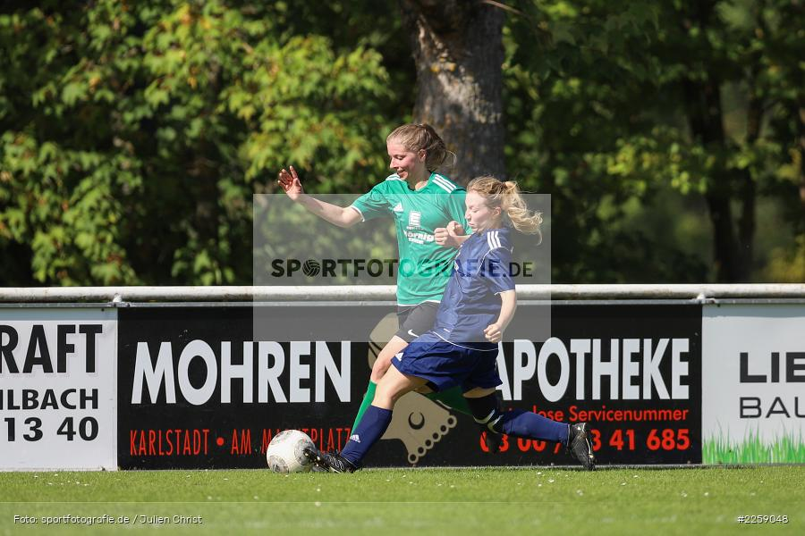 Sarah Weiglein, Sabine Wiesen, Kreisliga Frauen, 15.09.2019, FC Hopferstadt 2, FV Karlstadt - Bild-ID: 2259048