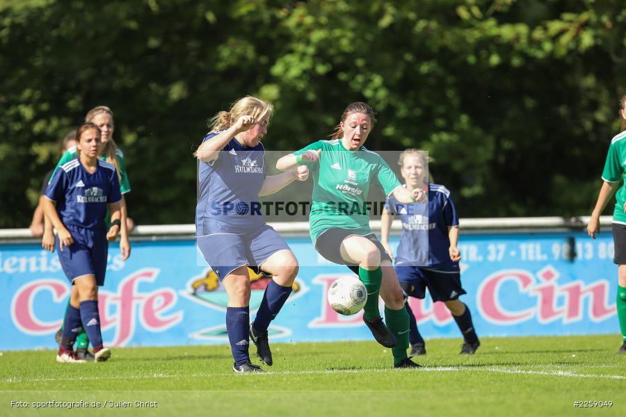 Maria Schwarz, Lisa Steinbach, Kreisliga Frauen, 15.09.2019, FC Hopferstadt 2, FV Karlstadt - Bild-ID: 2259049