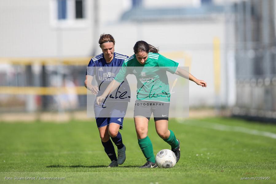 Tanja Breunig, Julia Vogel, Kreisliga Frauen, 15.09.2019, FC Hopferstadt 2, FV Karlstadt - Bild-ID: 2259051