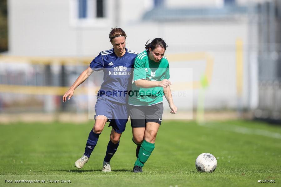 Tanja Breunig, Julia Vogel, Kreisliga Frauen, 15.09.2019, FC Hopferstadt 2, FV Karlstadt - Bild-ID: 2259052