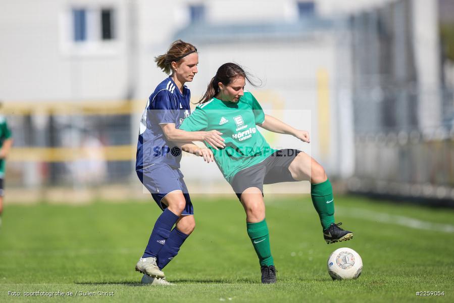 Tanja Breunig, Julia Vogel, Kreisliga Frauen, 15.09.2019, FC Hopferstadt 2, FV Karlstadt - Bild-ID: 2259054