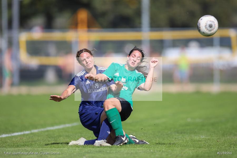 Tanja Breunig, Julia Vogel, Kreisliga Frauen, 15.09.2019, FC Hopferstadt 2, FV Karlstadt - Bild-ID: 2259056