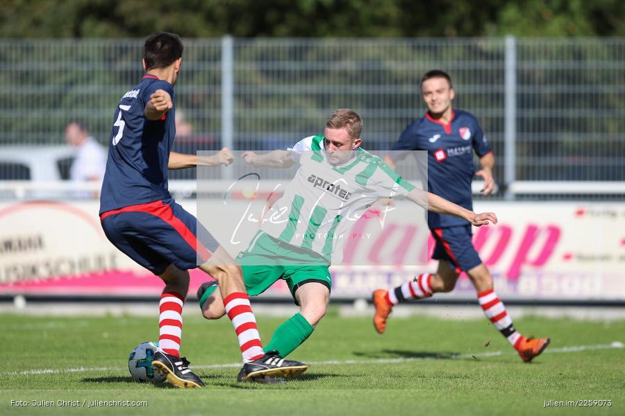 Benedikt Wald, Tim Hofbauer, 15.09.2019, Kreisliga Würzburg, SG Hettstadt, FV Karlstadt - Bild-ID: 2259073