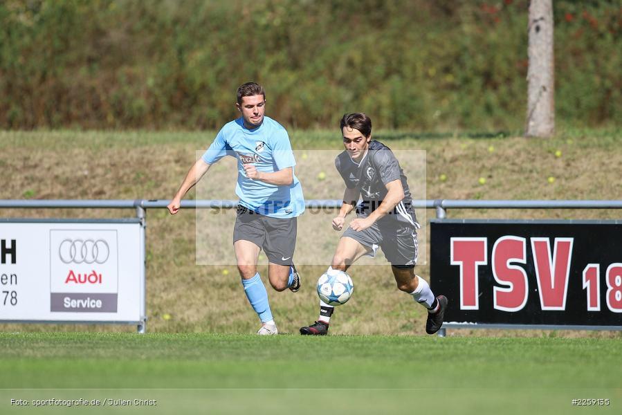 Mario Hartmann, Benedict Krelina, Bezirksliga West, 15.09.2019, TSV Keilberg, TSV Retzbach - Bild-ID: 2259135