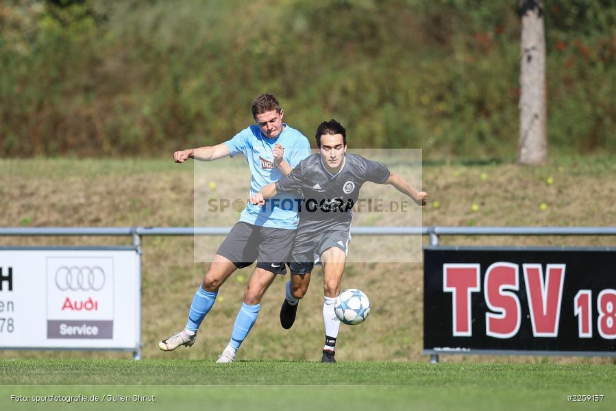 Mario Hartmann, Benedict Krelina, Bezirksliga West, 15.09.2019, TSV Keilberg, TSV Retzbach - Bild-ID: 2259137