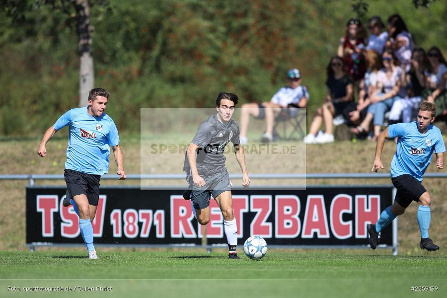 Mario Hartmann, Benedict Krelina, Bezirksliga West, 15.09.2019, TSV Keilberg, TSV Retzbach - Bild-ID: 2259139