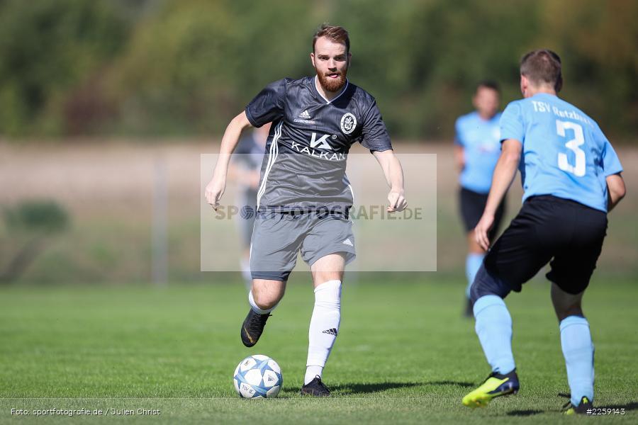 Manuel Rumpel, Stefan Emmerich, Bezirksliga West, 15.09.2019, TSV Keilberg, TSV Retzbach - Bild-ID: 2259143