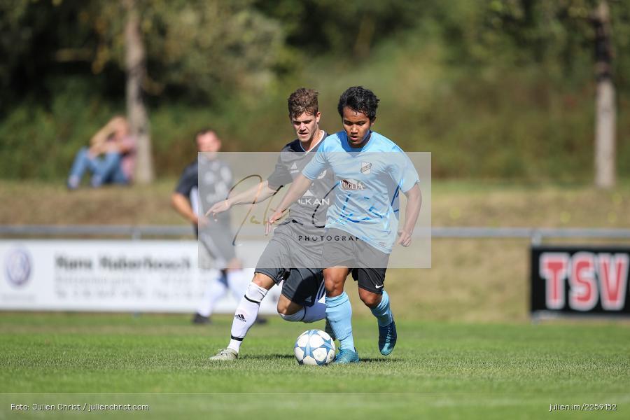 Thawatchai Pimsai, Kevin Heim, Bezirksliga West, 15.09.2019, TSV Keilberg, TSV Retzbach - Bild-ID: 2259152