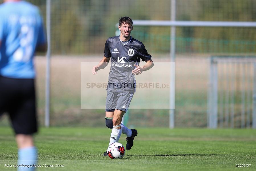 Dominik Aulbach, Bezirksliga West, 15.09.2019, TSV Keilberg, TSV Retzbach - Bild-ID: 2259157