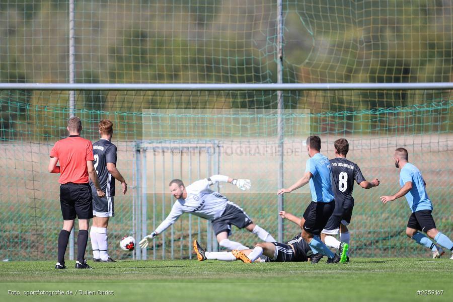 Andreas Häcker, Benedikt Strohmenger, Bezirksliga West, 15.09.2019, TSV Keilberg, TSV Retzbach - Bild-ID: 2259167
