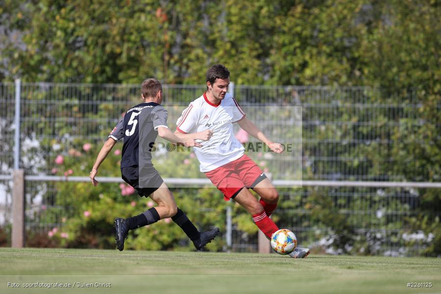 Marco Brand, Fabian Imhof, Kreisklasse Würzburg, 22.09.2019, FV Langenprozelten/Neuendorf, SG Eußenheim/Gambach - Bild-ID: 2261125