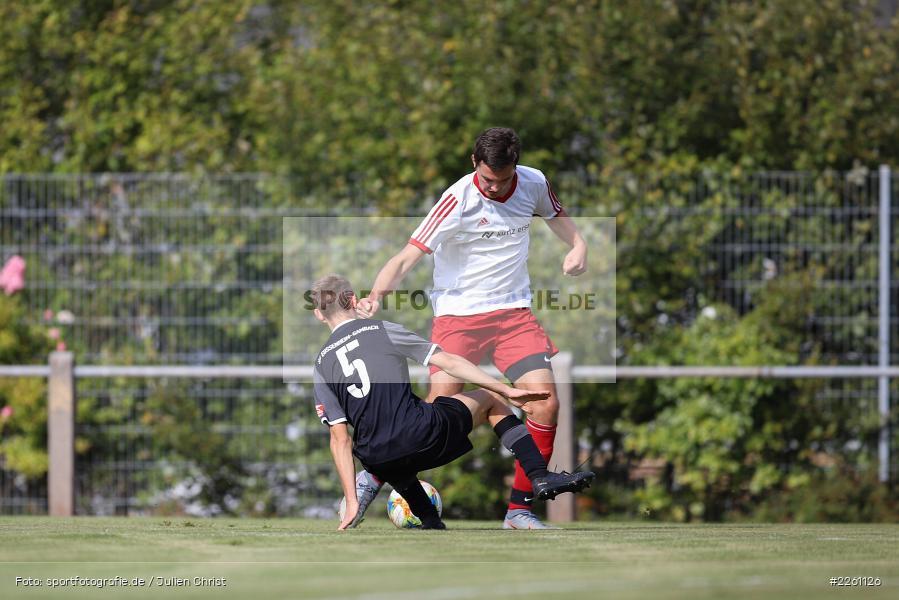 Marco Brand, Fabian Imhof, Kreisklasse Würzburg, 22.09.2019, FV Langenprozelten/Neuendorf, SG Eußenheim/Gambach - Bild-ID: 2261126