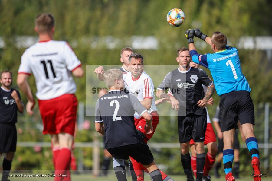 Kevin Henn, Kreisklasse Würzburg, 22.09.2019, FV Langenprozelten/Neuendorf, SG Eußenheim/Gambach - Bild-ID: 2261172