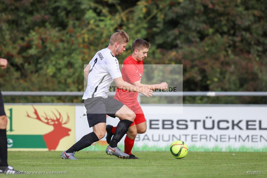 Felix Gold, Markus Mjalov, 22.09.2019, Kreisliga Würzburg, FV Gemünden/Seifriedsburg, TSV Karlburg II - Bild-ID: 2261217