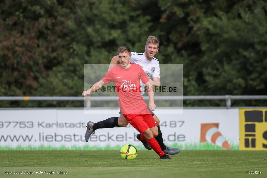 Felix Gold, Markus Mjalov, 22.09.2019, Kreisliga Würzburg, FV Gemünden/Seifriedsburg, TSV Karlburg II - Bild-ID: 2261219