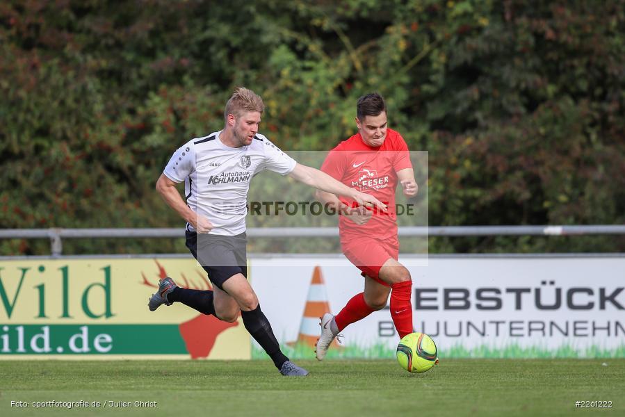 Felix Gold, Artur Jurkin, 22.09.2019, Kreisliga Würzburg, FV Gemünden/Seifriedsburg, TSV Karlburg II - Bild-ID: 2261222