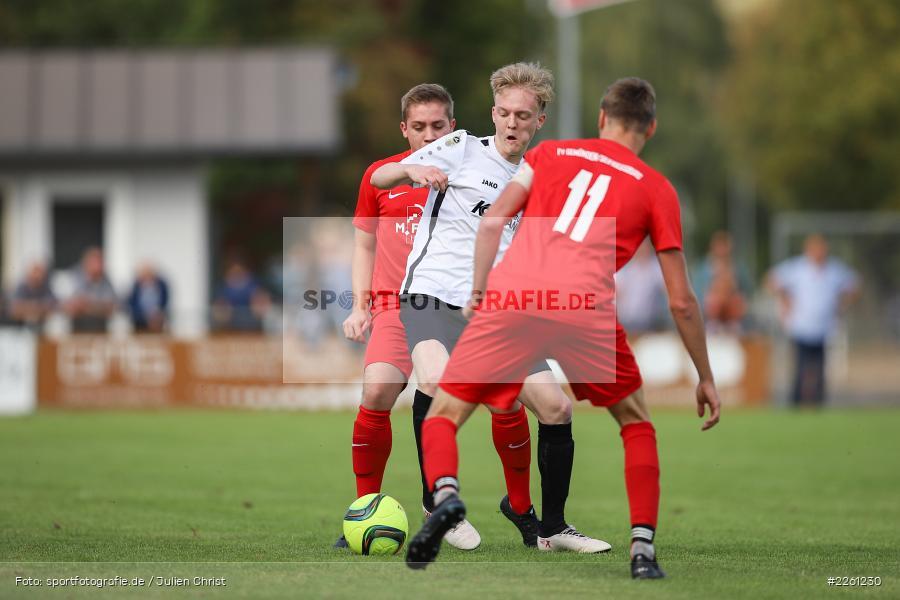 Jan Vogt, Maximilian Strick, 22.09.2019, Kreisliga Würzburg, FV Gemünden/Seifriedsburg, TSV Karlburg II - Bild-ID: 2261230