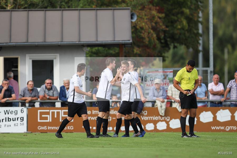 Michael Wolff, Timo Spehnkuch, 22.09.2019, Kreisliga Würzburg, FV Gemünden/Seifriedsburg, TSV Karlburg II - Bild-ID: 2261235