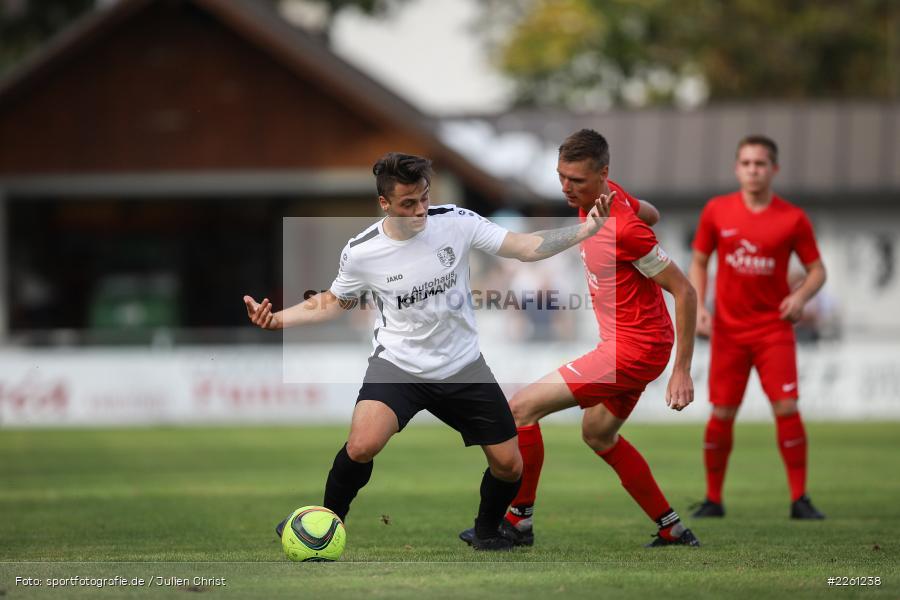 Tim Strohmenger, Michael Wolff, 22.09.2019, Kreisliga Würzburg, FV Gemünden/Seifriedsburg, TSV Karlburg II - Bild-ID: 2261238