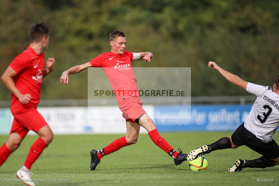 Tim Strohmenger, 22.09.2019, Kreisliga Würzburg, FV Gemünden/Seifriedsburg, TSV Karlburg II - Bild-ID: 2261239