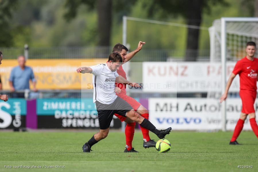 Christian Stich, Johannes Gold, 22.09.2019, Kreisliga Würzburg, FV Gemünden/Seifriedsburg, TSV Karlburg II - Bild-ID: 2261242