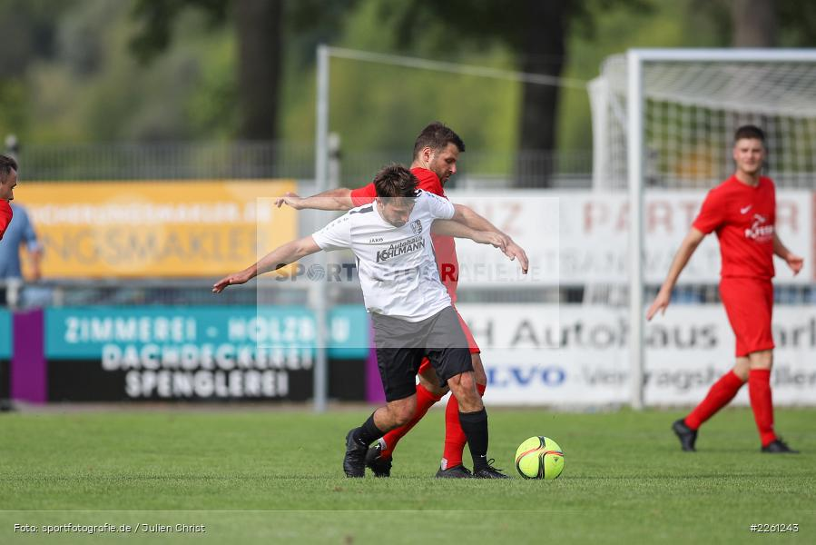 Johannes Gold, Christian Stich, 22.09.2019, Kreisliga Würzburg, FV Gemünden/Seifriedsburg, TSV Karlburg II - Bild-ID: 2261243