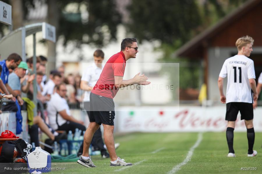 Johannes Scholz, 22.09.2019, Kreisliga Würzburg, FV Gemünden/Seifriedsburg, TSV Karlburg II - Bild-ID: 2261250