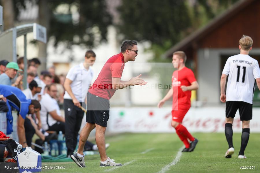 Johannes Scholz, 22.09.2019, Kreisliga Würzburg, FV Gemünden/Seifriedsburg, TSV Karlburg II - Bild-ID: 2261251