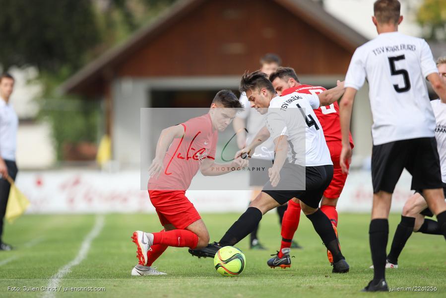 Michael Wolff, Artur Jurkin, 22.09.2019, Kreisliga Würzburg, FV Gemünden/Seifriedsburg, TSV Karlburg II - Bild-ID: 2261256